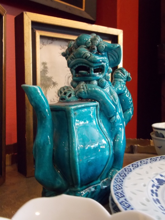 Chinese Lion Teapot
