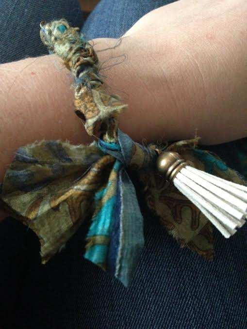 Sari bracelet 1